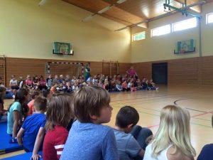 Spendenlauf der Grundschule Klosterfelde