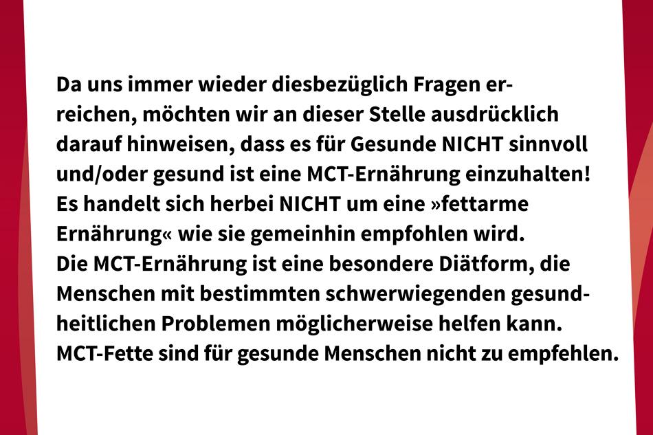 MCT-Kochbuch