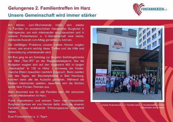 Familien-Wochenende Harz