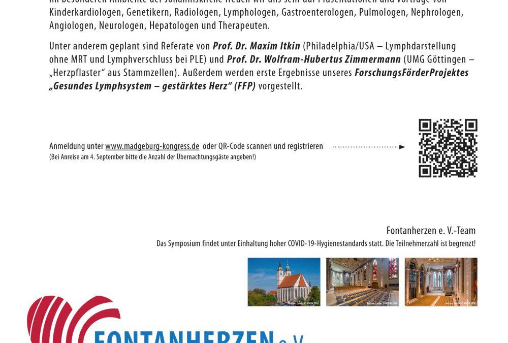 Fontan-Herz-Symposium am 5. September